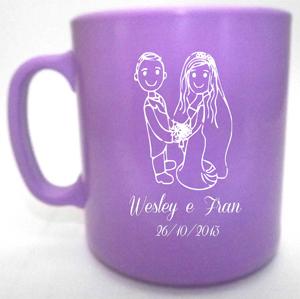 Canecas de café Wesley e Fran
