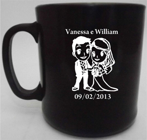 Canecas de café Vanessa e William