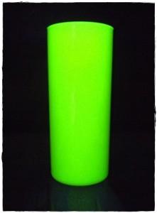 Copos long drink neon amarelo opaco