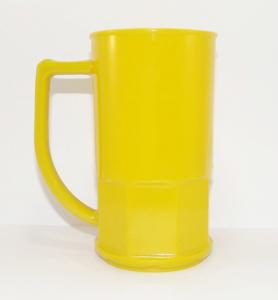 Canecas de chopp 500 ml Amarela Opaca
