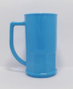 Canecas de chopp 500 ml Azul Opaca