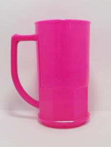 Canecas de chopp 500 ml Rosa Opaca
