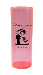 Copos Long Drink 280 ml Paloma e Juliano
