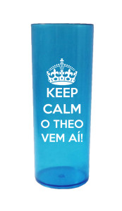 Copos Long Drink 280 ml Theo vem ai